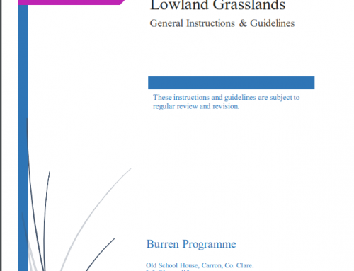 Guidelines for scoring Burren lowland grasslands